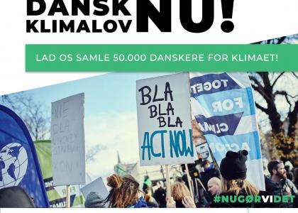 Klimalov Nu! Skriv under på borgerforslag om klimalov